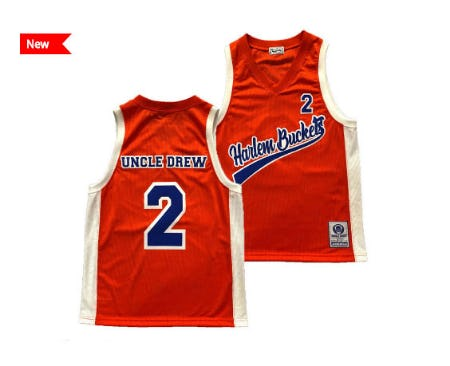 Uncle Drew Retro Brand Men's Uncle Drew Collection Jersey from Lids