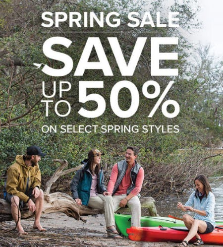 Up to 50% Off Spring Sale from Orvis