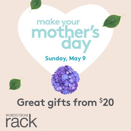 Mother's Day Gifts from $20! from Nordstrom Rack