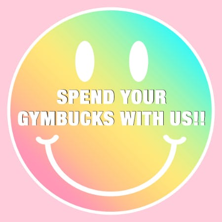 SPEND YOUR GYMBUCKS WITH THE CHILDREN'S PLACE!