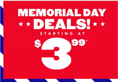 Memorial Day Deals Starting at $3.99 from The Children's Place