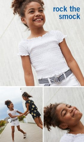 Shop Must-Have Smock Tops from Abercrombie Kids