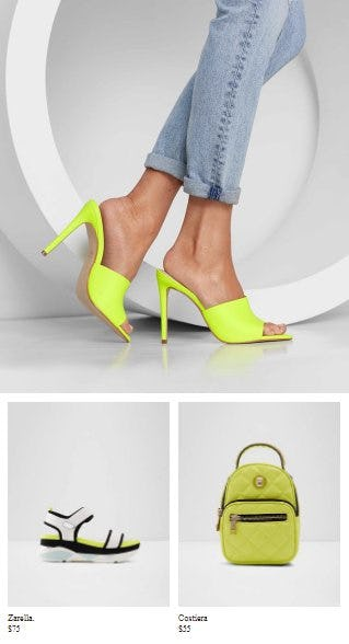 The Brightest Trend from ALDO Shoes
