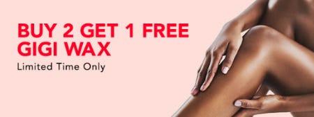 B2G1 Free GIGI Wax