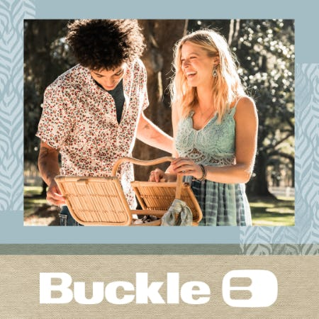 New spring arrivals at Buckle