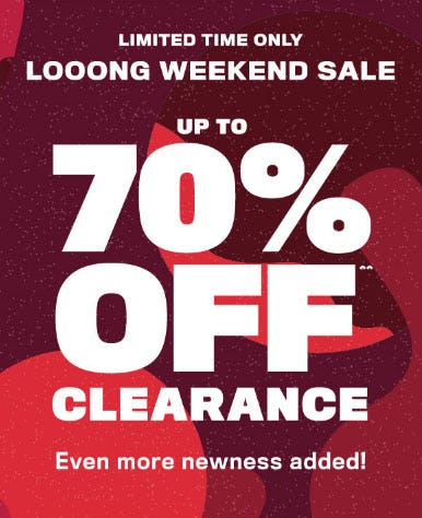 Up to 70% Off Clearance from rue21