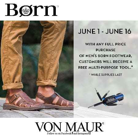 Born Father's Day Gift With Purchase from Von Maur