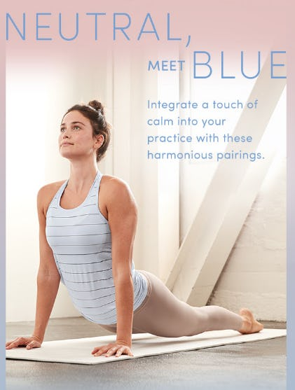 Neutral Meet Blue from Athleta