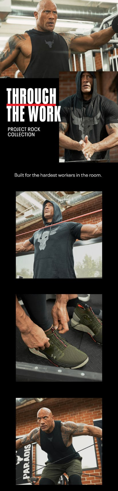 The Project Rock Collection is Here from Under Armour