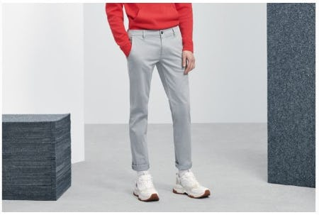 Your Perfect Chino Fit from Hugo Boss