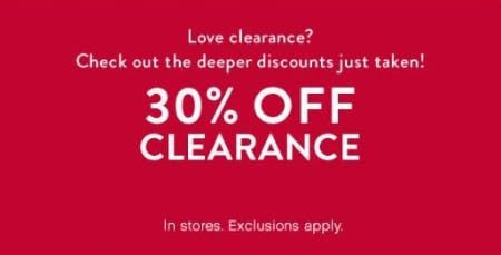 30% Off Clearance from Catherines Plus Sizes