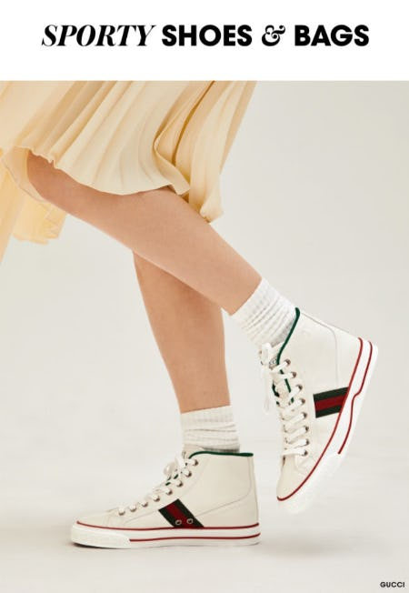 New Sporty-Chic Accessories from Bloomingdale's