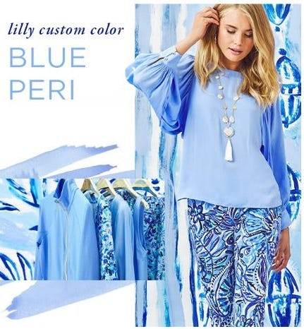 Custom Color Crush: Blue Peri from Lilly Pulitzer