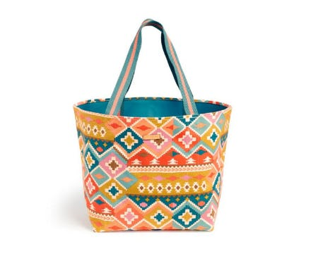 Canvas Beach Tote from Vera Bradley