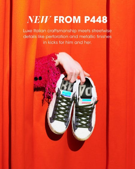 The Latest P448 Sneakers from Bloomingdale's