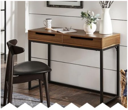 New Desk for your Home Office Upgrade from Bob's Discount Furniture