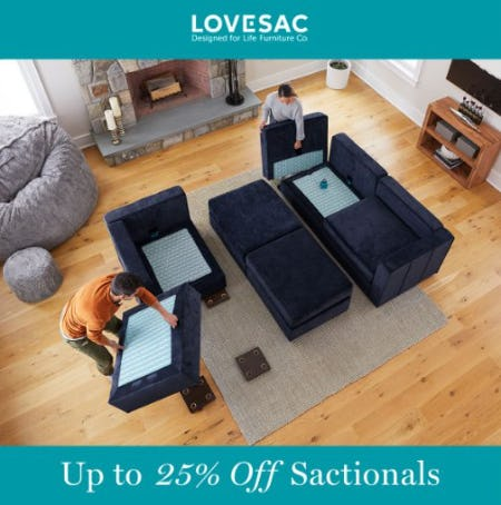Stack More, Save More from Lovesac
