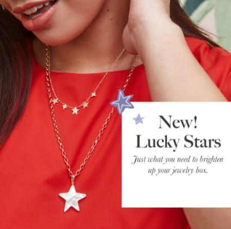 New Lucky Stars from Kendra Scott