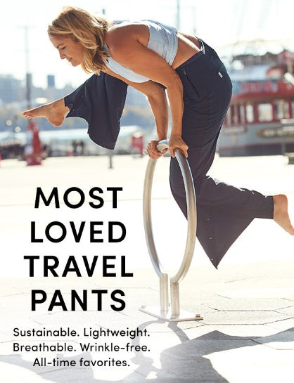 Most Loved Travel Pants from Athleta