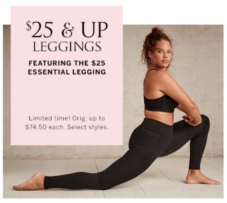 $25 & Up Leggings from Victoria's Secret