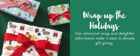 Wrap Up The Holidays from Paper Source