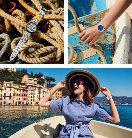 Shop the Swatch Mediterranean Views Collection from Swatch
