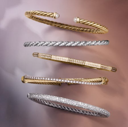To Mom, With Love: David Yurman Bracelets from David Yurman