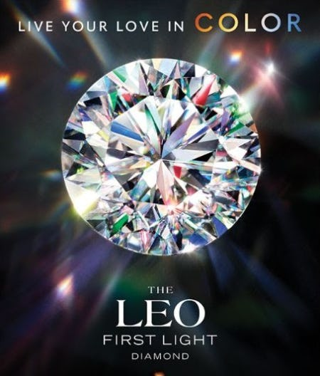 The Leo First Light Diamond from Jared Galleria Of Jewelry