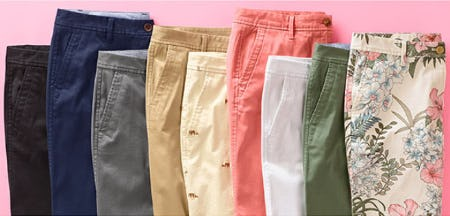 The Relaxed Chino Update from Talbots