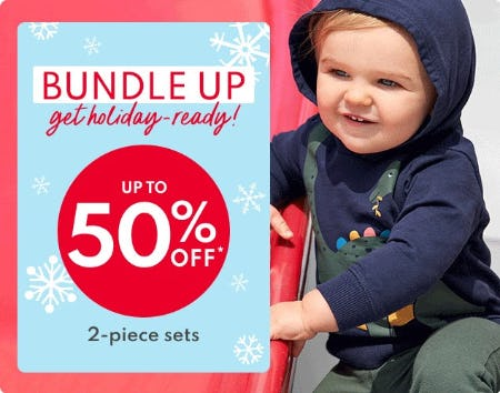 Up to 50% Off 2-Piece Sets from Carter's
