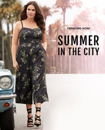 Just Dropped: Summer In The City Collection from Torrid