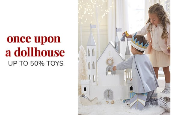 Up to 50% Toys from Pottery Barn Kids