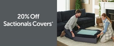 20% Off Sactionals Covers