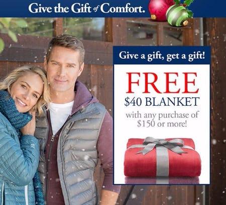 Free $40 Blanket