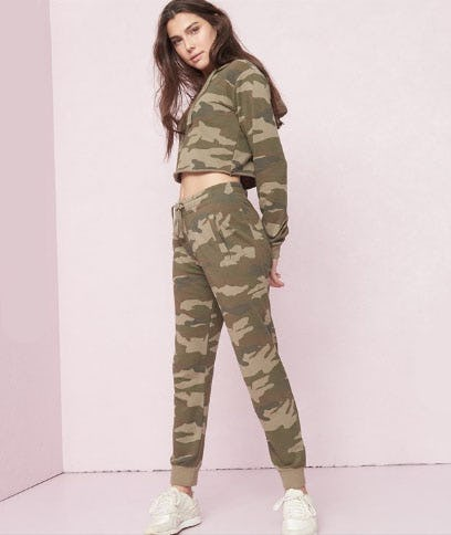 Camo Girlfriend Jogger