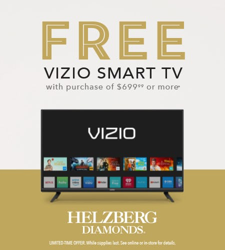 FREE VIZIO SMART TV - BLACK FRIDAY! from Helzberg Diamonds