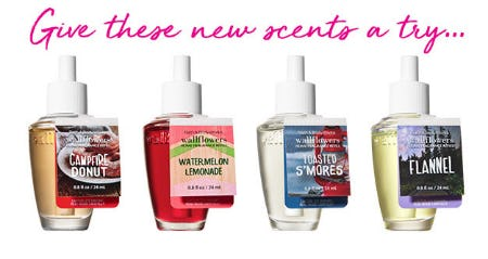 New Scents from Bath & Body Works