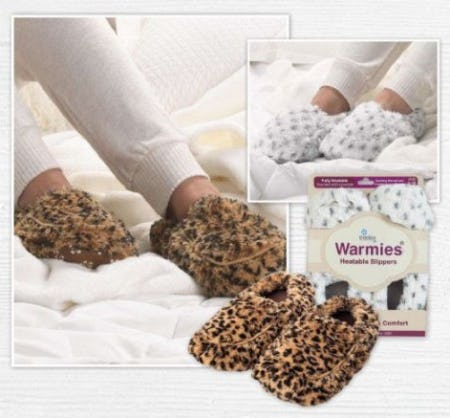 Warmies Slippers to Keep You Warm