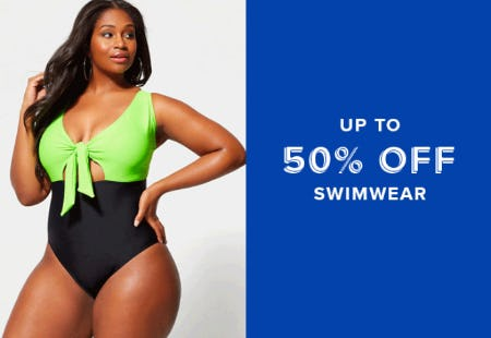 Up to 50% Off Swimwear from Fashion To Figure