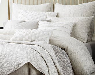 Our Cozy Bedding from West Elm
