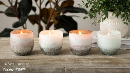 14.5oz Candles Now $19.99 from Kirkland's Home