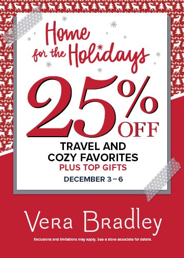 Home for the Holidays from Vera Bradley