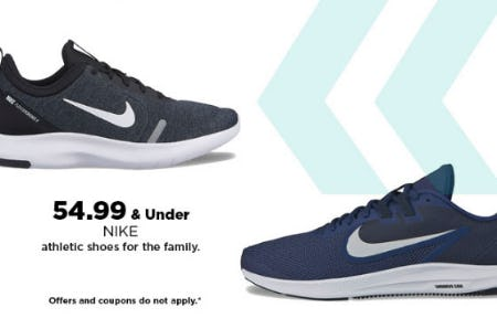 $54.99 & Under Nike Athletic Shoes from Kohl's