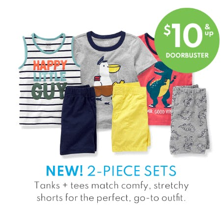 2-Piece Sets $10 & Up Doorbuster from Carter's