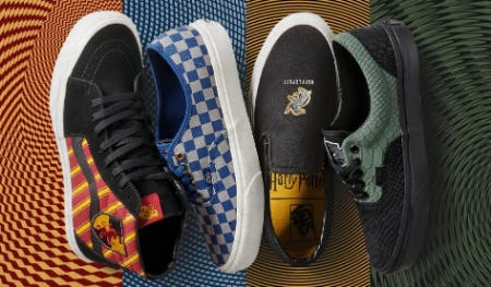 NOW AVAILABLE! . . . . Vans/HARRY POTTER from Journeys Kidz
