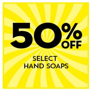 50% Off Select Hand Soaps from Bath & Body Works/White Barn