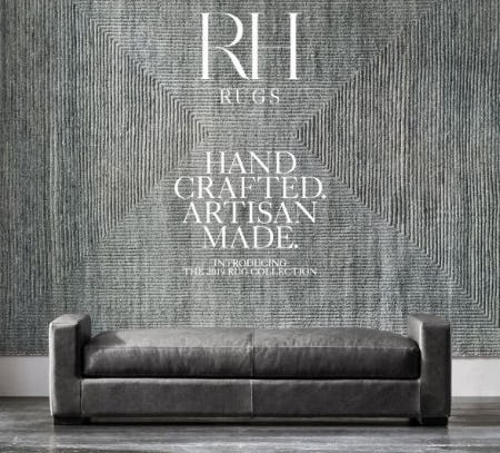 The 2019 Rug Collection from Restoration Hardware