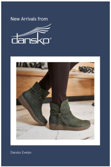 New Arrivals from Dansko® from The Walking Company