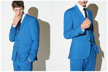 New for Spring: Into the Blue from Boss