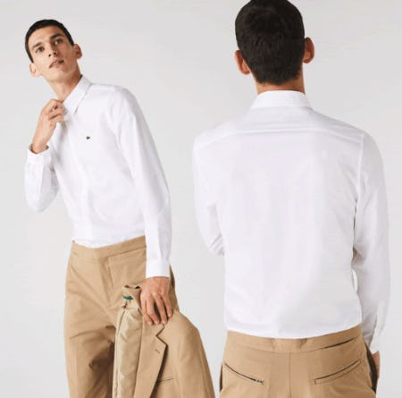 The Essential Shirt from Lacoste